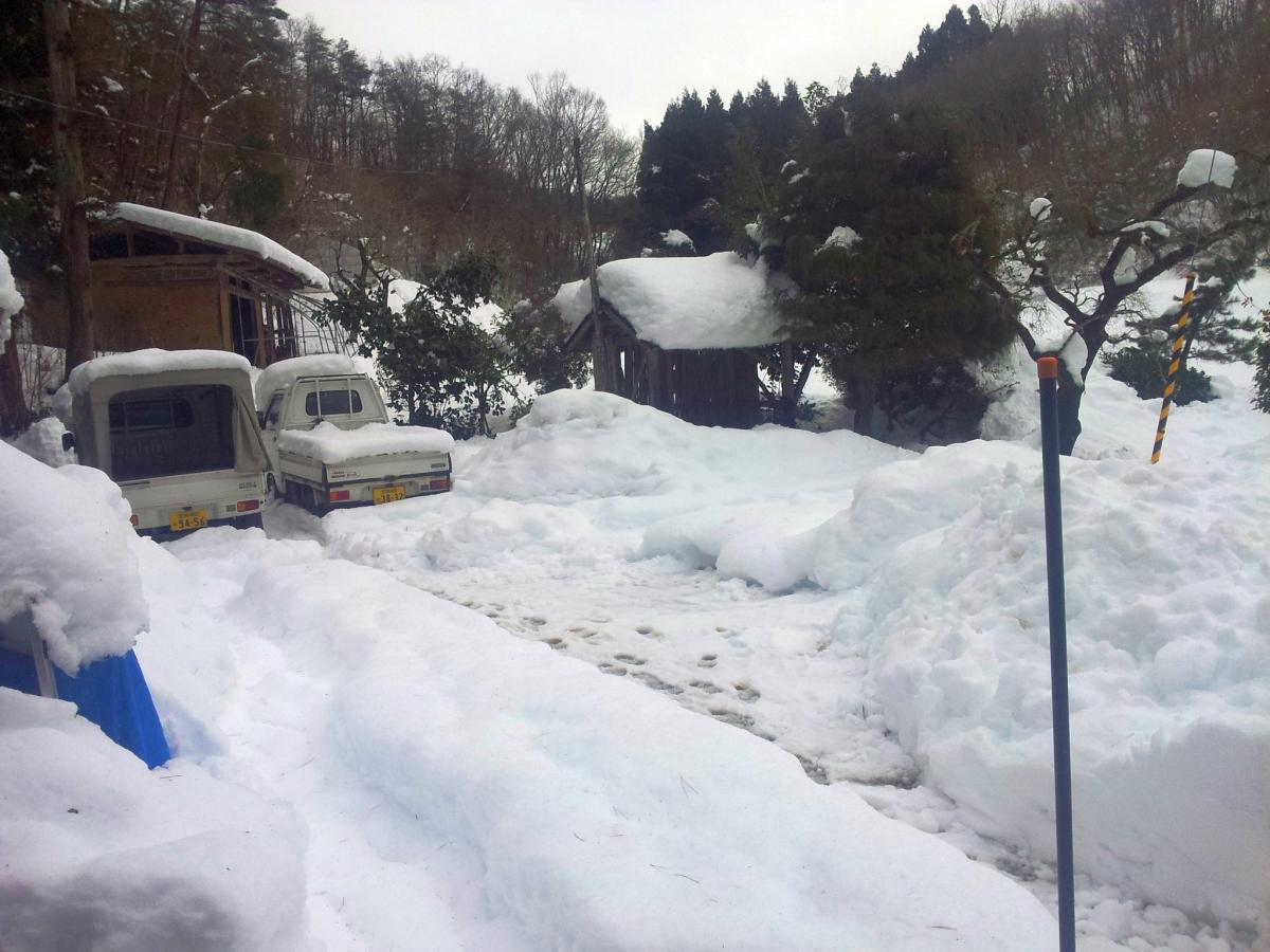記録的な大雪の日